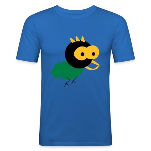 lintu-eps - Miesten tyköistuva t-paita