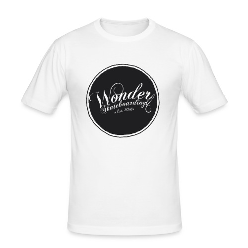 Wonder T-shirt - oldschool logo - Herre Slim Fit T-Shirt