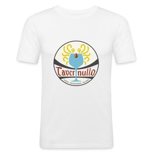 tavernullo - Maglietta aderente da uomo