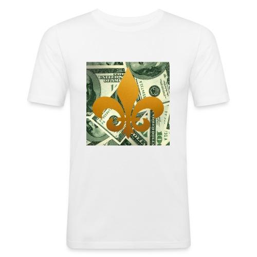 DonBehavior's fleur de lis - Men's Slim Fit T-Shirt
