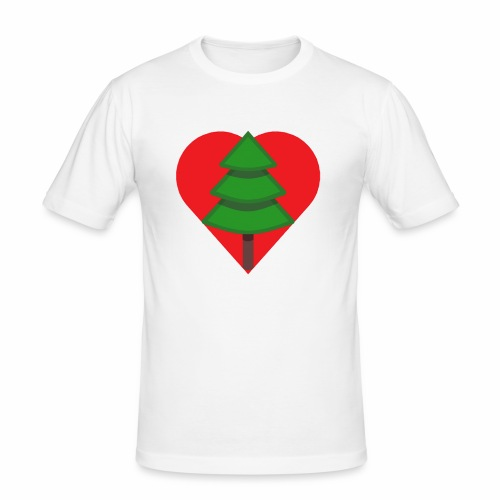 Luv trees! - Men's Slim Fit T-Shirt