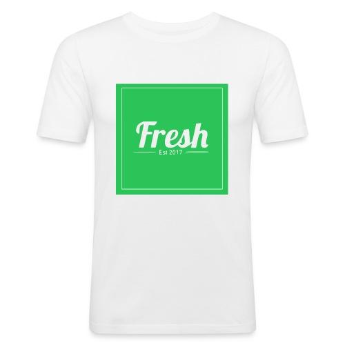 Green square - Men's Slim Fit T-Shirt