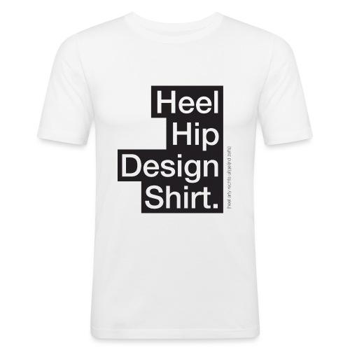 Heel hip - Mannen slim fit T-shirt