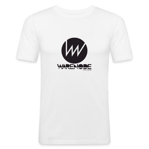 WareNode LOGO - Maglietta aderente da uomo
