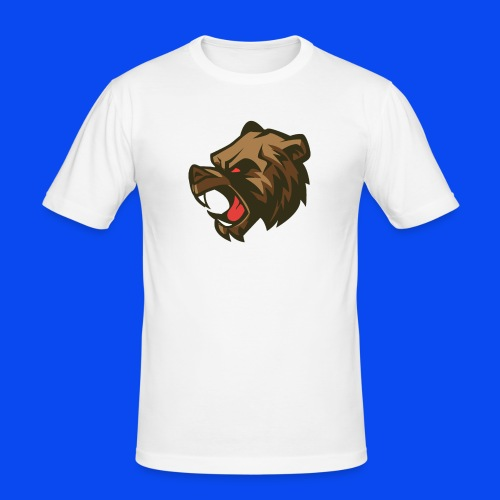 Grizzly logo merch - Men's Slim Fit T-Shirt