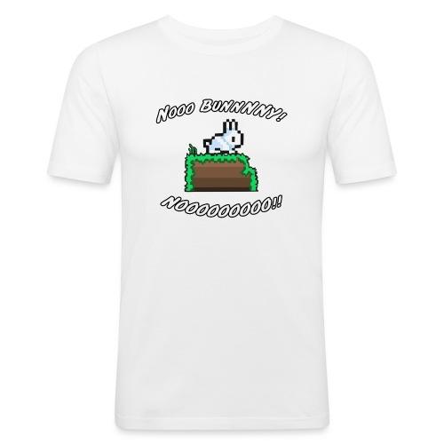 1032197 11745450 bunnynooooo orig - Men's Slim Fit T-Shirt