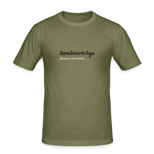 LiamLarnerVlogs - Men's Slim Fit T-Shirt
