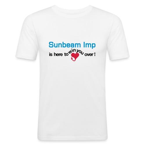 heretowinyouover - Slim Fit T-skjorte for menn