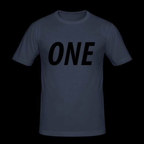WEAREONE x LETTERS - Mannen slim fit T-shirt