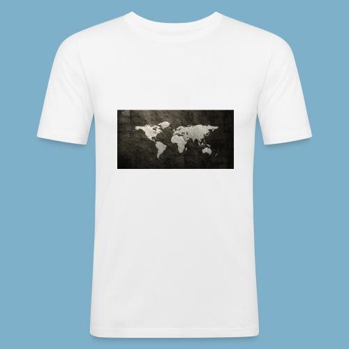 Global - Männer Slim Fit T-Shirt