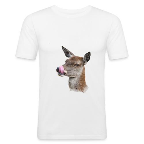 nasty goat - Mannen slim fit T-shirt
