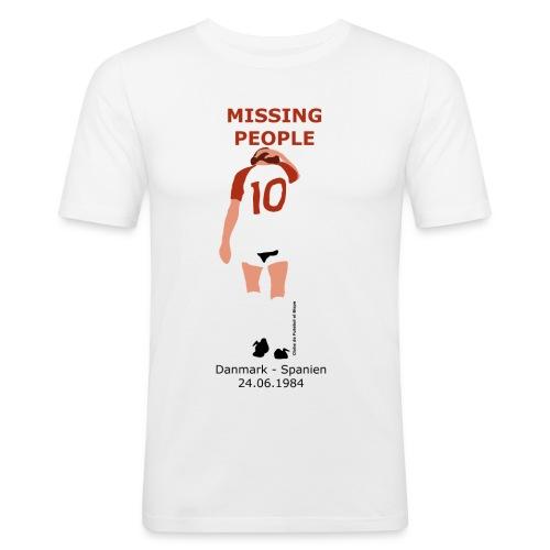 Missing People - Herre Slim Fit T-Shirt