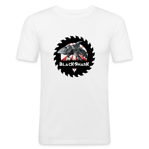 BlacKSharK Logo 2014 - Männer Slim Fit T-Shirt