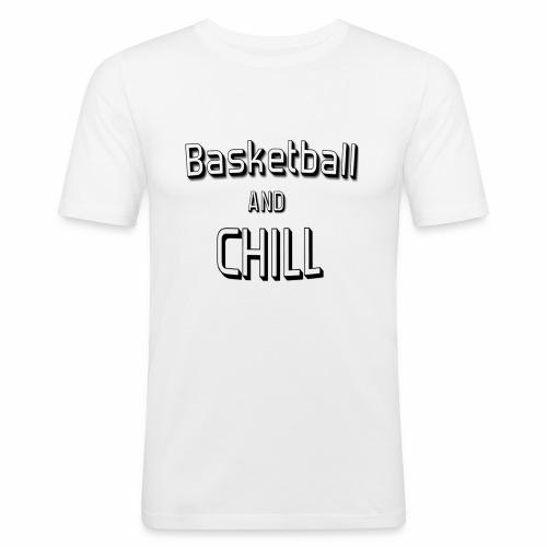 Basketball'n'chill - T-shirt près du corps Homme