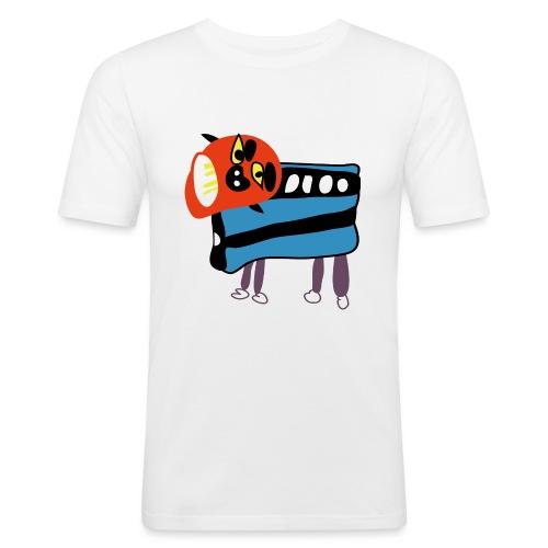 Shi Shi - Mannen slim fit T-shirt