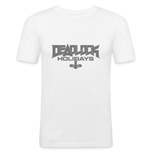 DLH Vektor - Männer Slim Fit T-Shirt