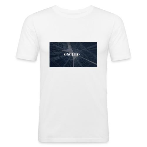 COPERTINA ALBUM OSCURO - Maglietta aderente da uomo