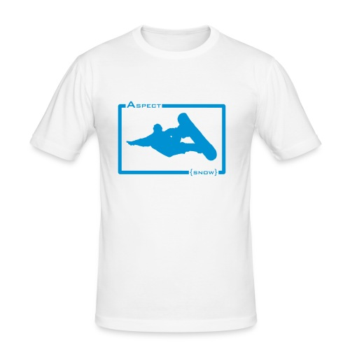 aspectboarderblue - Men's Slim Fit T-Shirt