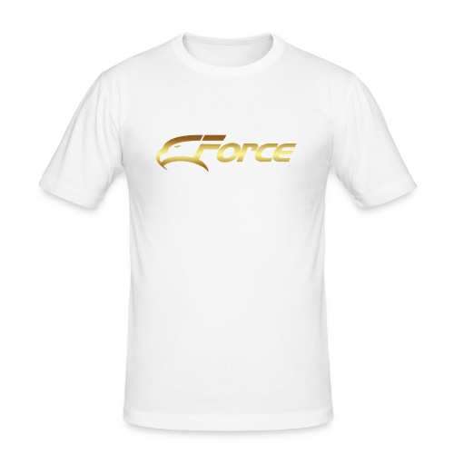 Force Gold - Slim Fit T-shirt herr