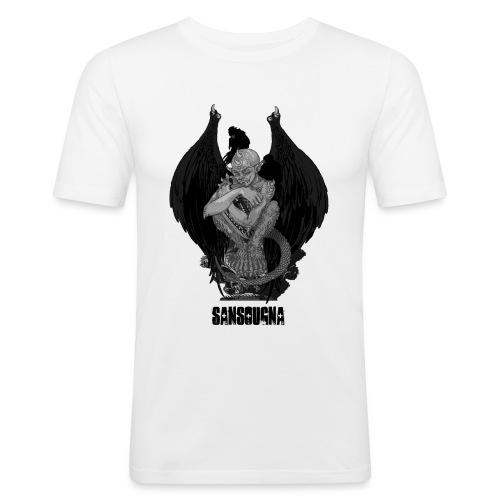 Sansougna - T-shirt près du corps Homme
