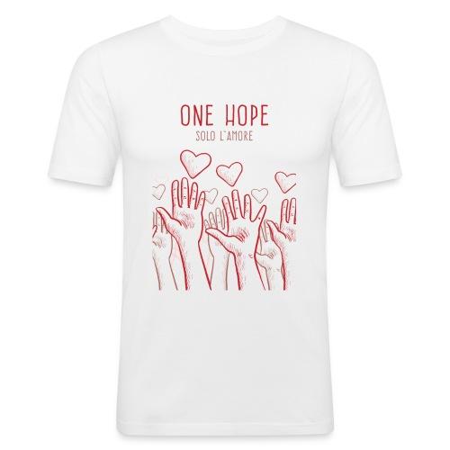 solo l'amore - Maglietta aderente da uomo