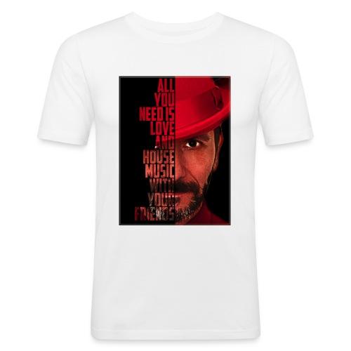 All U NEED - Männer Slim Fit T-Shirt