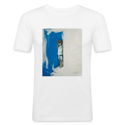 THE CHOICE - Obcisła koszulka męska