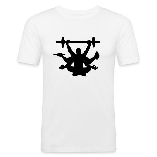 Focus training - Miesten tyköistuva t-paita