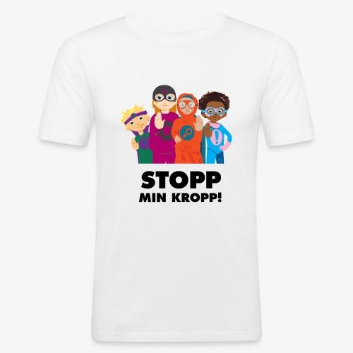 Stopp min kropp! - Slim Fit T-shirt herr