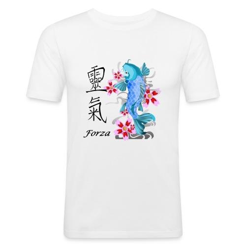 FORZA KANJI - Maglietta aderente da uomo