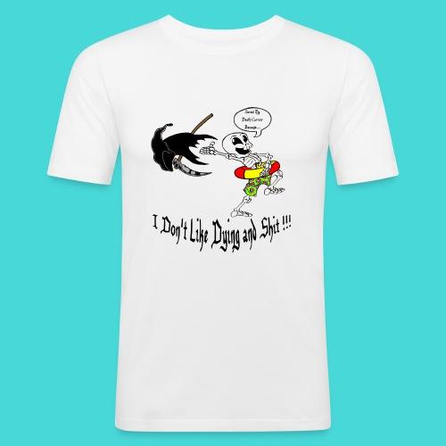 Happy Living Skeleton - slim fit T-shirt