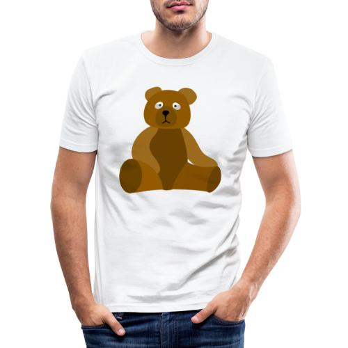 nounours - T-shirt près du corps Homme