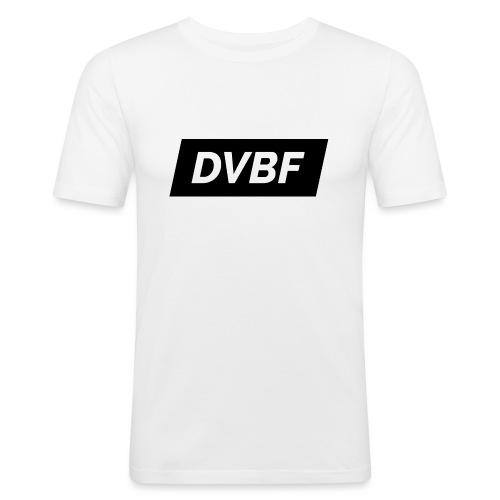 DVBF Svart - Slim Fit T-shirt herr