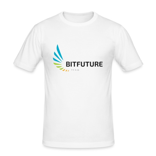 Team BitFuture - Männer Slim Fit T-Shirt