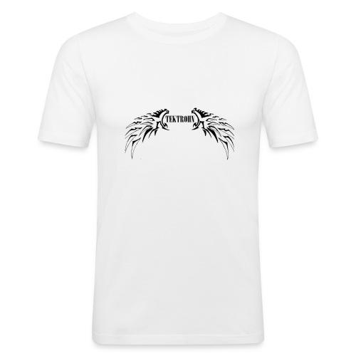 TekTrohn - Maglietta aderente da uomo