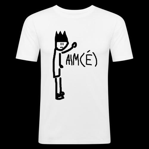 AIM(É) - Männer Slim Fit T-Shirt