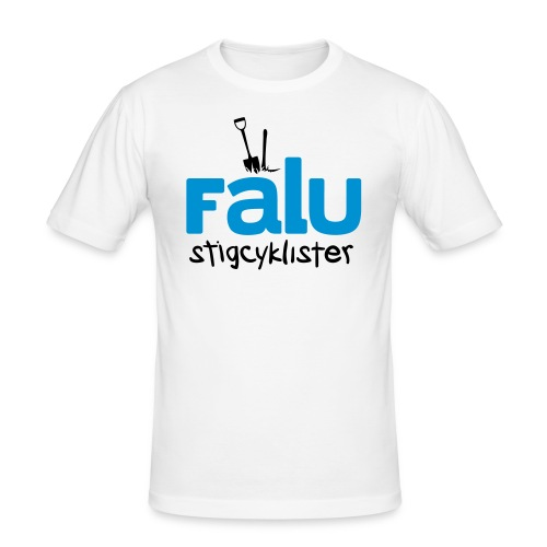 Falu Stigcyklister Blå - Slim Fit T-shirt herr