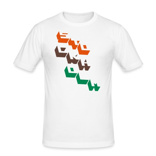 stockholm block - Slim Fit T-shirt herr
