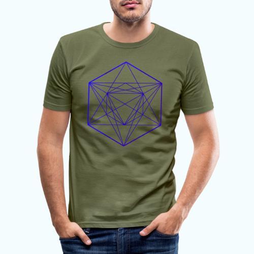 Minimal geometry - Men's Slim Fit T-Shirt