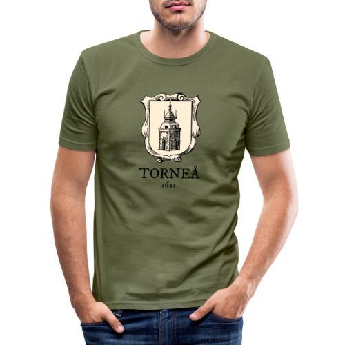 Torneå 1621 - Miesten tyköistuva t-paita