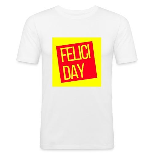 Feliciday - Camiseta ajustada hombre
