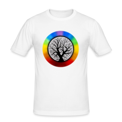 tree of life png - slim fit T-shirt