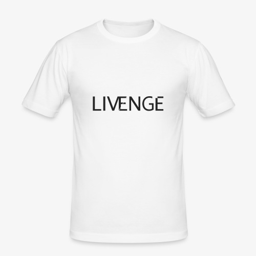 Livenge - Mannen slim fit T-shirt