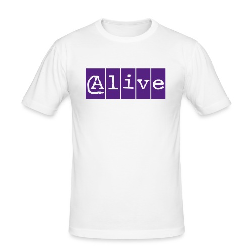 Alive - Mannen slim fit T-shirt