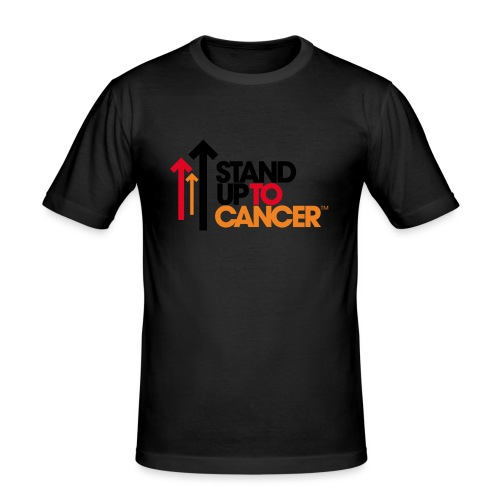 stand up to cancer logo - Men's Slim Fit T-Shirt