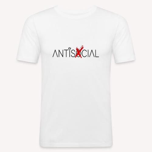 Antisocial - Men's Slim Fit T-Shirt
