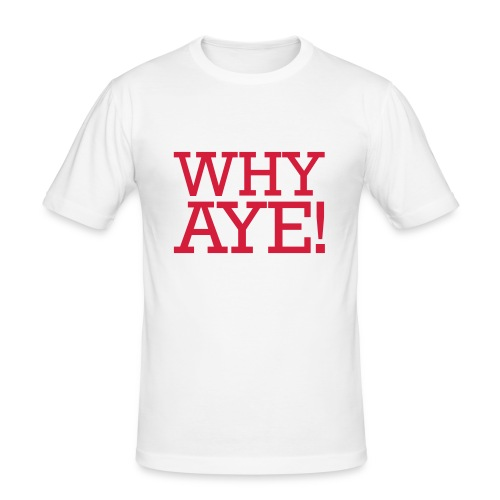 whyaye - Men's Slim Fit T-Shirt