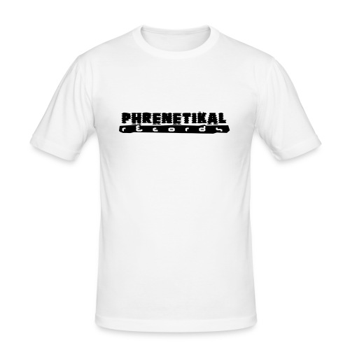 Lettering Basic 01 Phrenetikal - Men's Slim Fit T-Shirt