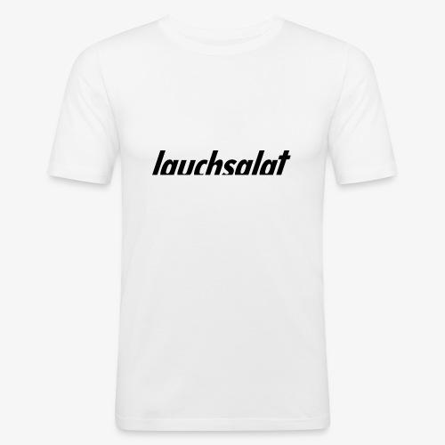 lauchsalat - Männer Slim Fit T-Shirt