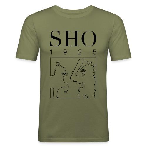SHO 1925 - Miesten tyköistuva t-paita